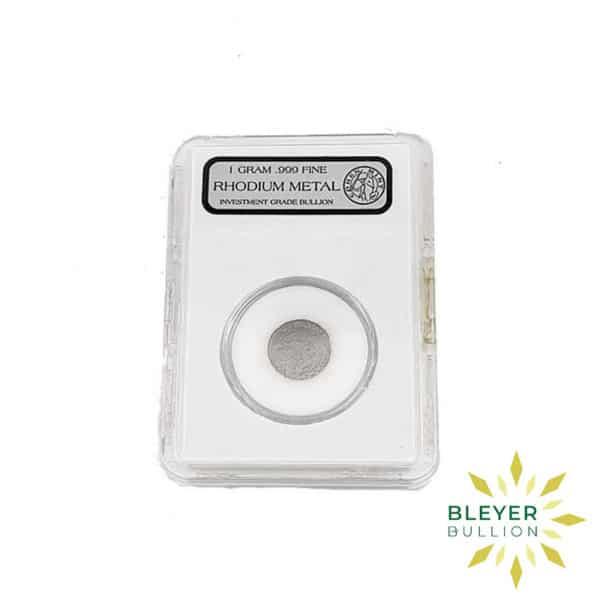 Bleyers Coin Best Value 1g American Rhodium Coin 2009 2