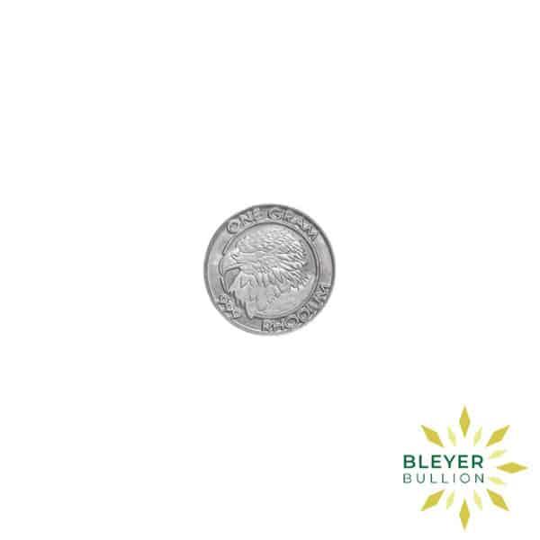 Bleyers Coin Best Value 1g American Rhodium Coin 2009 3
