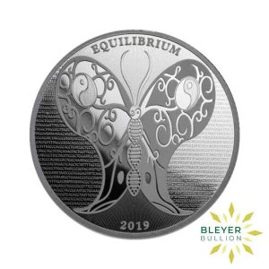 Bleyers Coin 1oz Silver Tokelau Equilibrium Butterfly Coin 2019 1