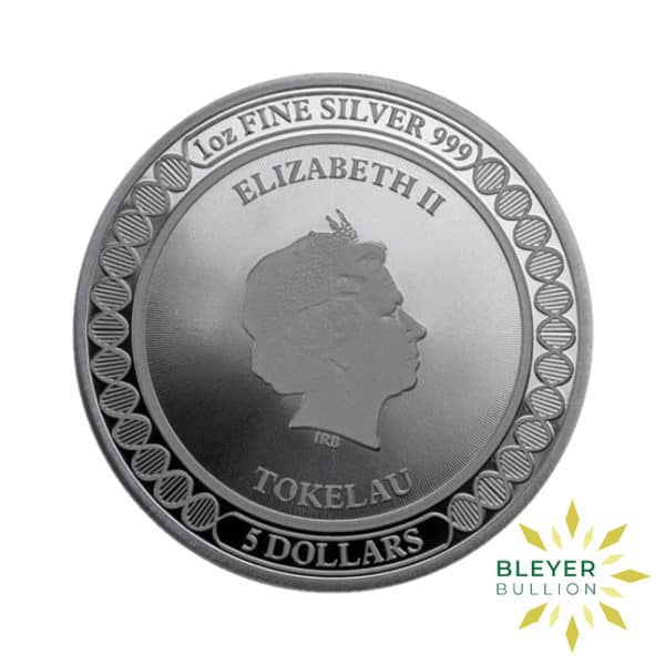 Bleyers Coin 1oz Silver Tokelau Equilibrium Butterfly Coin 2019 2