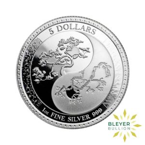 Bleyers Coin 1oz Silver Tokelau Equilibrium Coin 2018 1