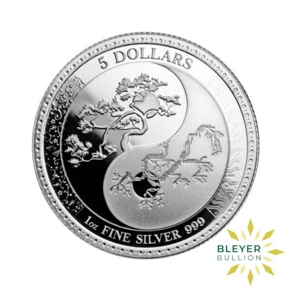 Bleyers Coin 1oz Silver Tokelau Equilibrium Coin 2018 1