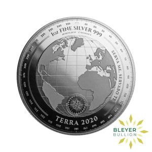 Bleyers Coin 1oz Silver Tokelau Terra Coin 2020 2