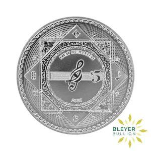 Bleyers Coin 1oz Silver Tokelau Vivat Humanitas Coin 2021 Front2