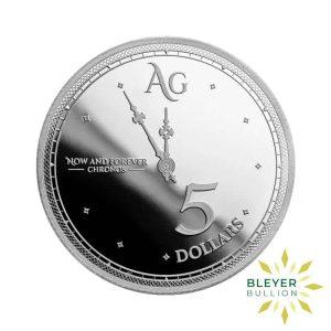 Bleyers Coins 1oz Silver Tokelau Chronos Coin 2019 2
