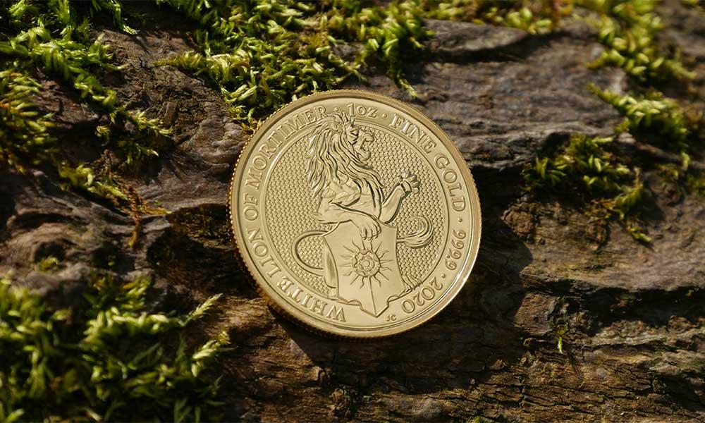 Coronavirus Crash Gold Lion Coin