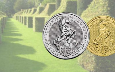 New 2020 UK Queen's Beast 'White Horse of Hanover' Coins