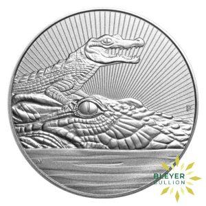 Bleyers Coins 10oz Silver Australian Crocodile Coin 2019 1