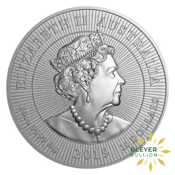 Bleyers Coins 10oz Silver Australian Crocodile Coin 2019 2