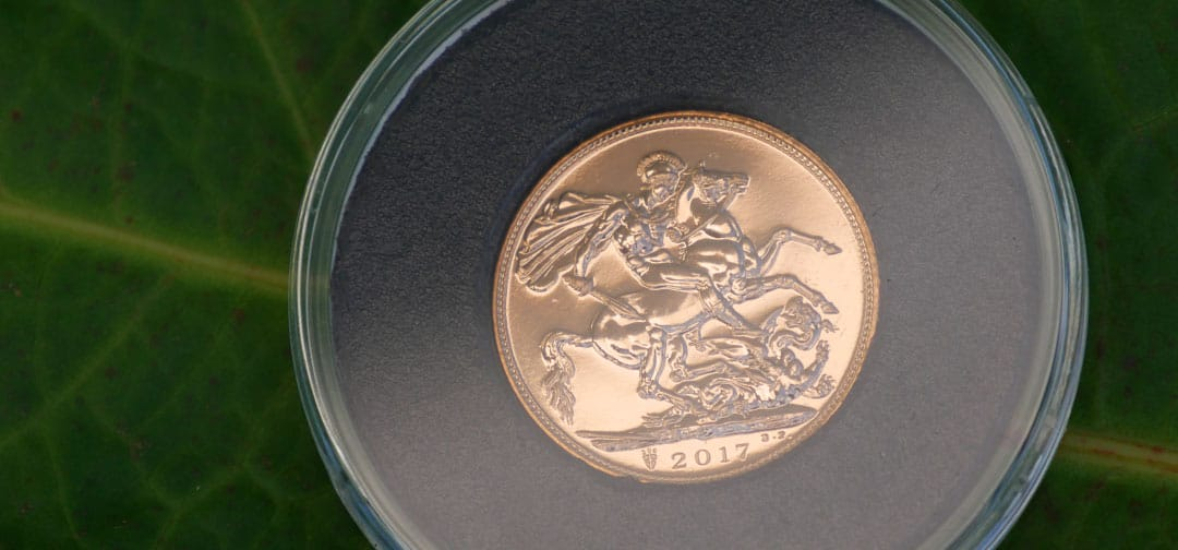 Why is Saint George on Gold Sovereign Coins?