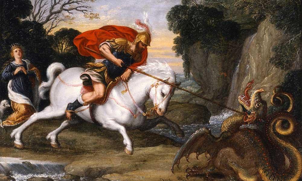 Saint George Painting