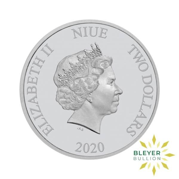 Bleyers Coin 1oz Boba Fett 2020 2