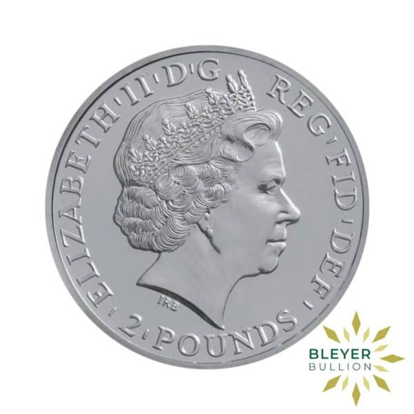 Bleyers Coin 1oz Boxed Silver UK Britannia Coin 2011 Back