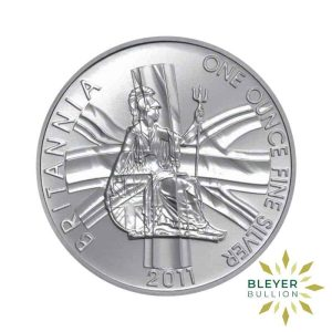Bleyers Coin 1oz Boxed Silver UK Britannia Coin 2011 Front