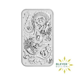 Bleyers Coin 1oz Dragon Rectangular Silver Coin 2020 1