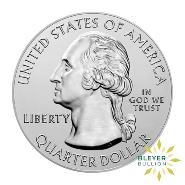 Bleyers Coin 5oz Silver American National Park Of America Bombay Hook Quarter 2015 2