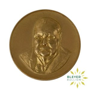 Bleyers Coin Best Value Winston Churchill 22 Carat Gold Medallion 1965 1