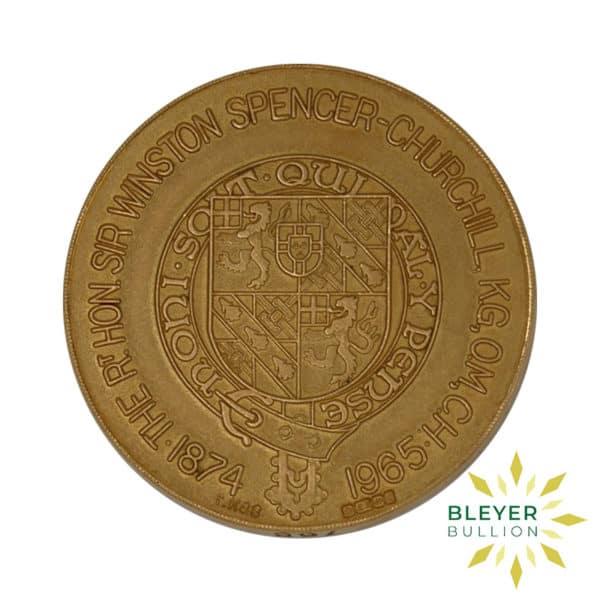Bleyers Coin Best Value Winston Churchill 22 Carat Gold Medallion 1965 2