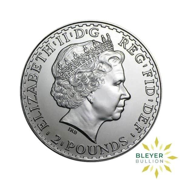 Bleyers Coin Silver UK Britannia Coins 1oz Silver UK Britannia Coin Boxed 2010 Back2