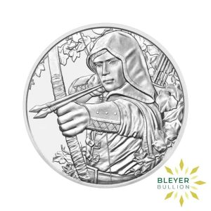 Bleyers Coins 1oz Silver Austrian Robin Hood Coin 2019 Front