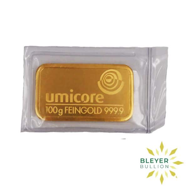 Bleyers Bar Baird Co Cast Gold Bar 100g BV 1
