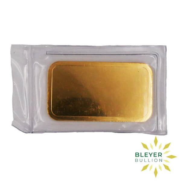 Bleyers Bar Baird Co Cast Gold Bar 100g BV 3