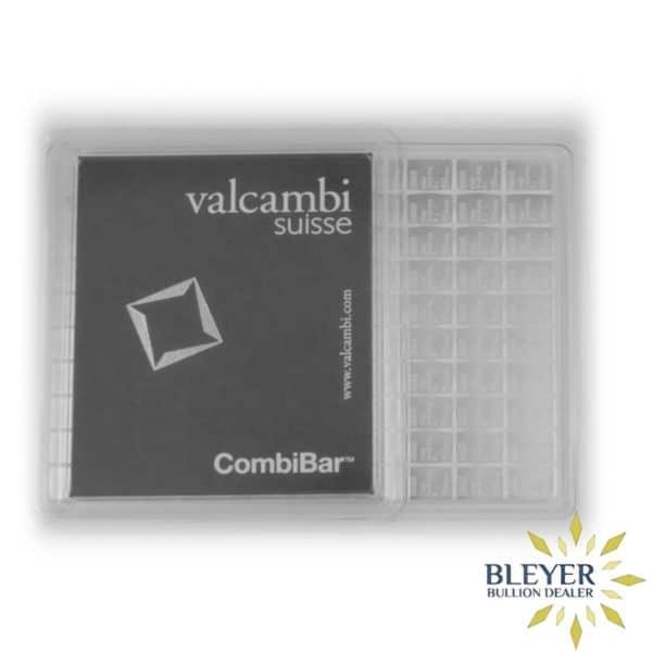 Bleyers Bars 100g Silver Valcambi Minted CombiBar 2