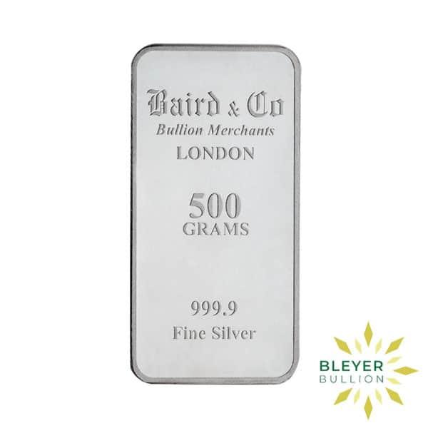 Bleyers Bar 500g Baird Co Minted Silver Bar BV2
