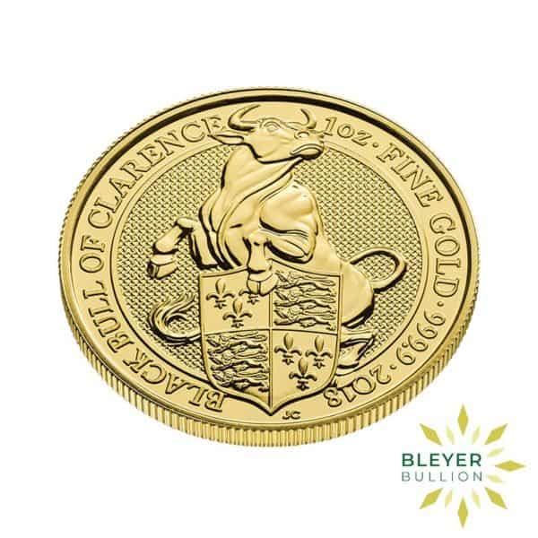 Bleyers Coin 1oz Gold Bull 3