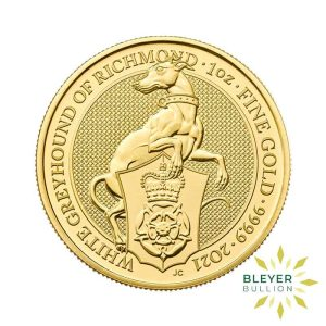Bleyers Coin 1oz Gold Greyhound 1