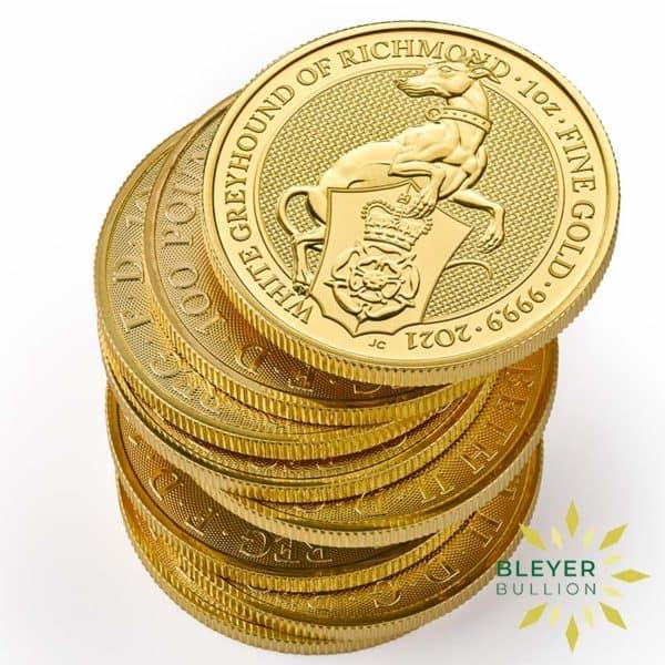 Bleyers Coin 1oz Gold Greyhound 4