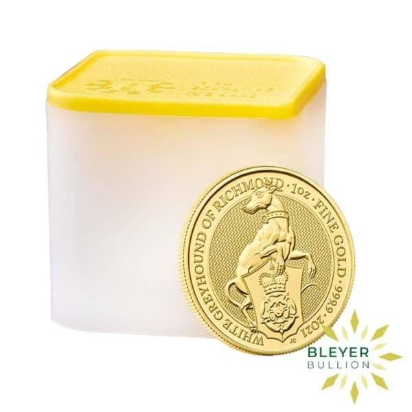 Bleyers Coin 1oz Gold Greyhound 5