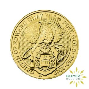 Bleyers Coin 1oz Gold Griffin 1