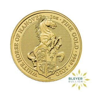 Bleyers Coin 1oz Gold Horse 1