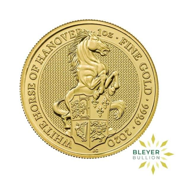 Bleyers Coin 1oz Gold Horse 1