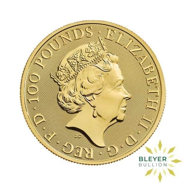 Bleyers Coin 1oz Gold Horse 2