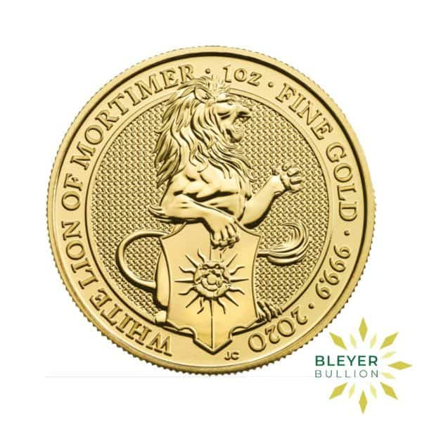 Bleyers Coin 1oz Gold Lion 1