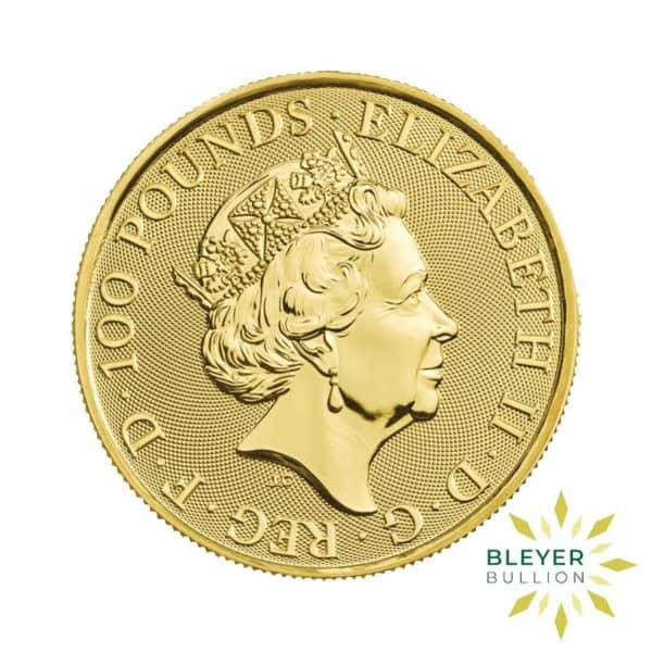 Bleyers Coin 1oz Gold Lion 2