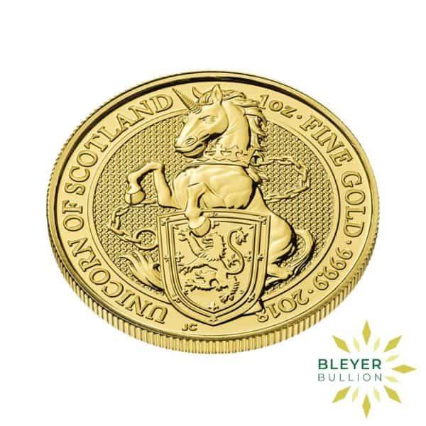 Bleyers Coin 1oz Gold Unicorn 3