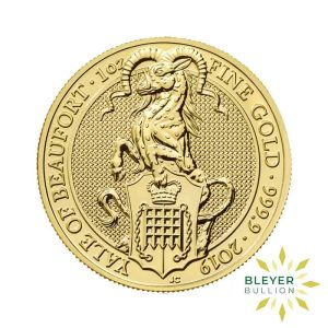 Bleyers Coin 1oz Gold Yale 1