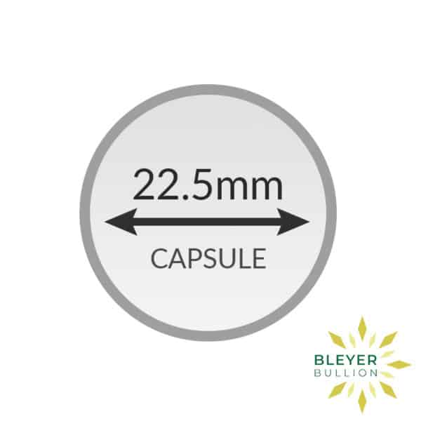 Bleyers Coin 22.5mm Capsule2