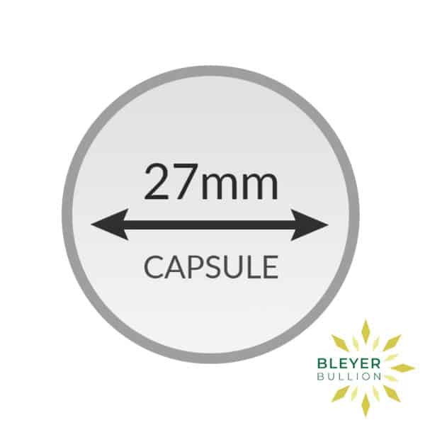 Bleyers Coin 27mm Capsule2