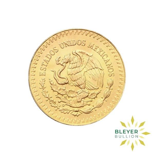 1 2oz Gold Mexico Libertad Coin 1981
