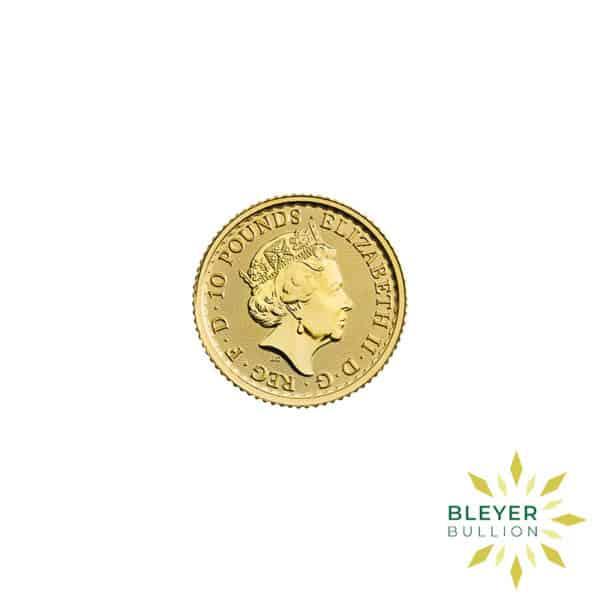 Bleyers Coin 1 10oz Gold UK Britannia Coin 2021 2