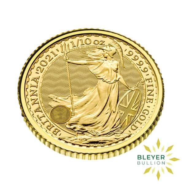 Bleyers Coin 1 10oz Gold UK Britannia Coin 2021 4