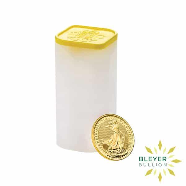 Bleyers Coin 1 4oz Gold UK Britannia Coin 2021 6