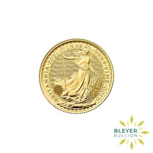 Bleyers Coin 1 4oz Gold UK Britannia Coin 2021 7