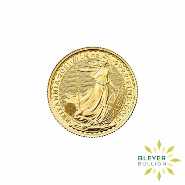 Bleyers Coin 1 4oz Gold UK Britannia Coin 2021 7
