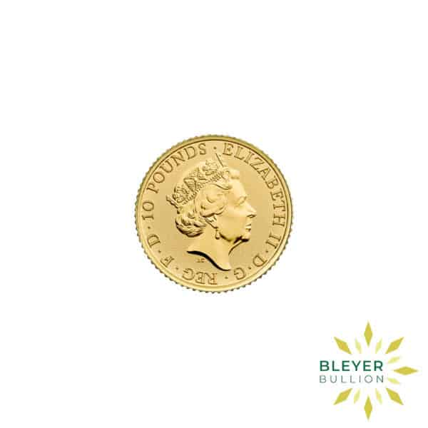 Bleyers Coin 1.10oz Royal Arms 2020 Back