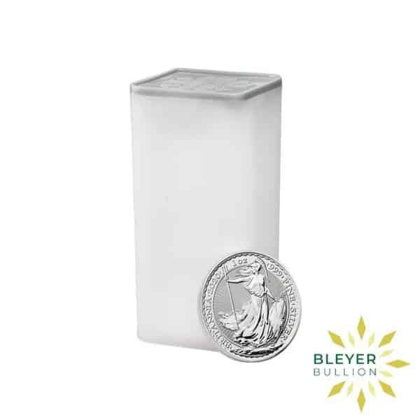 Bleyers Coin Cutouts 2020 Silver UK Britannia Coins 1oz Tube